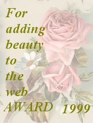 Beauty Award 7/01/99