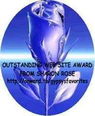 Sharon's Outstanding Site Award 11/19/99